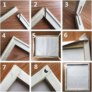 Kép 4/4 - Morcos Macska | 40x50 cm | DIY Kerettel