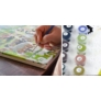 Kép 2/4 - Levendulamező | 40x50 cm | DIY Kerettel